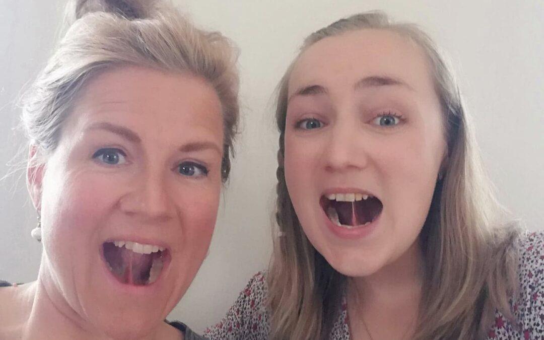 Stramt tungebånd – Hør Naja fortælle
